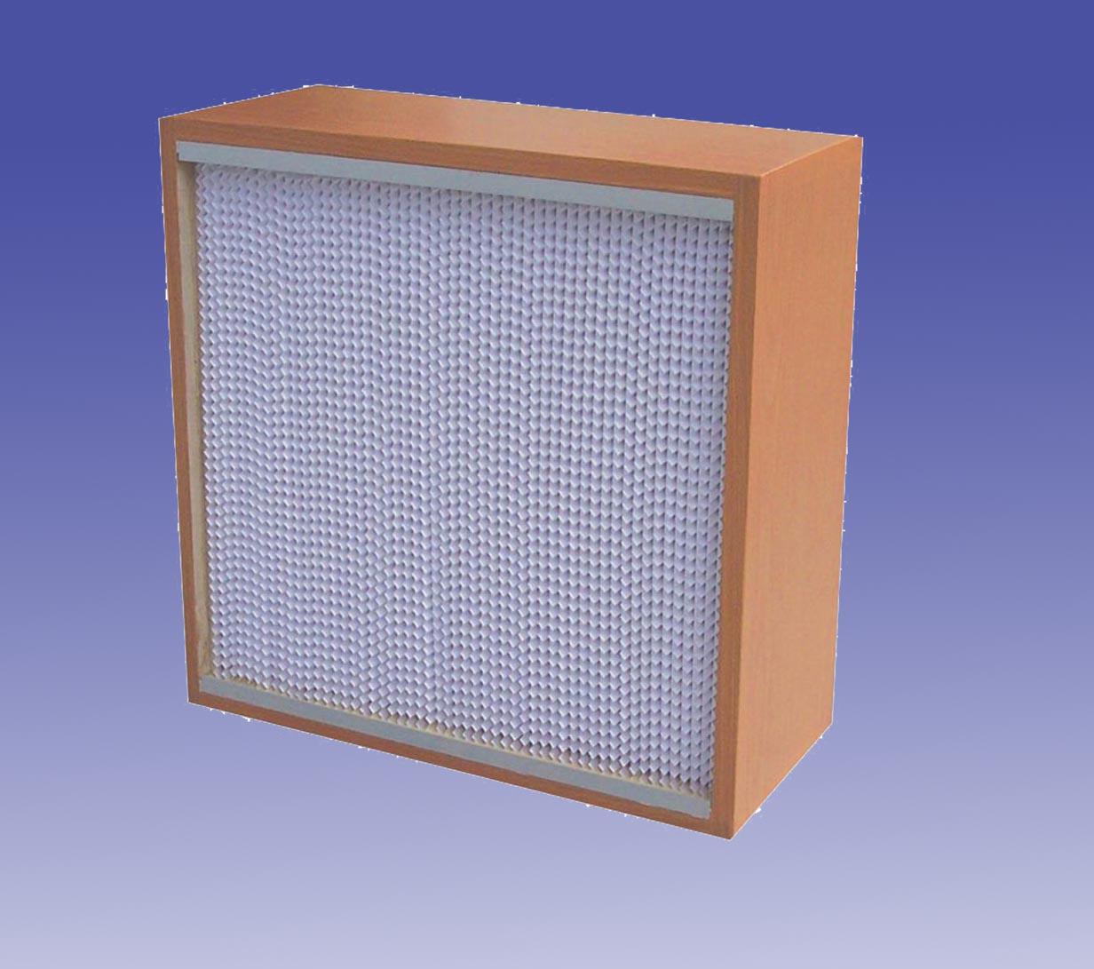有隔板高效过滤器 H13(木框)