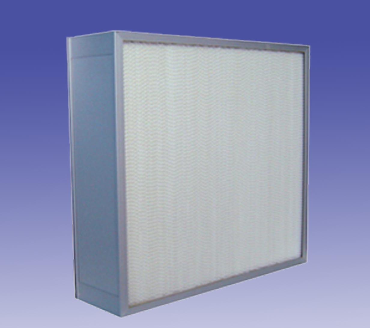 有隔板高效过滤器 H14(金属框)