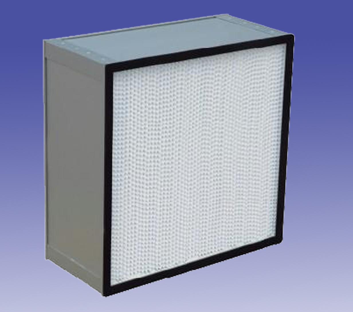 有隔板高效过滤器 H13(金属框)