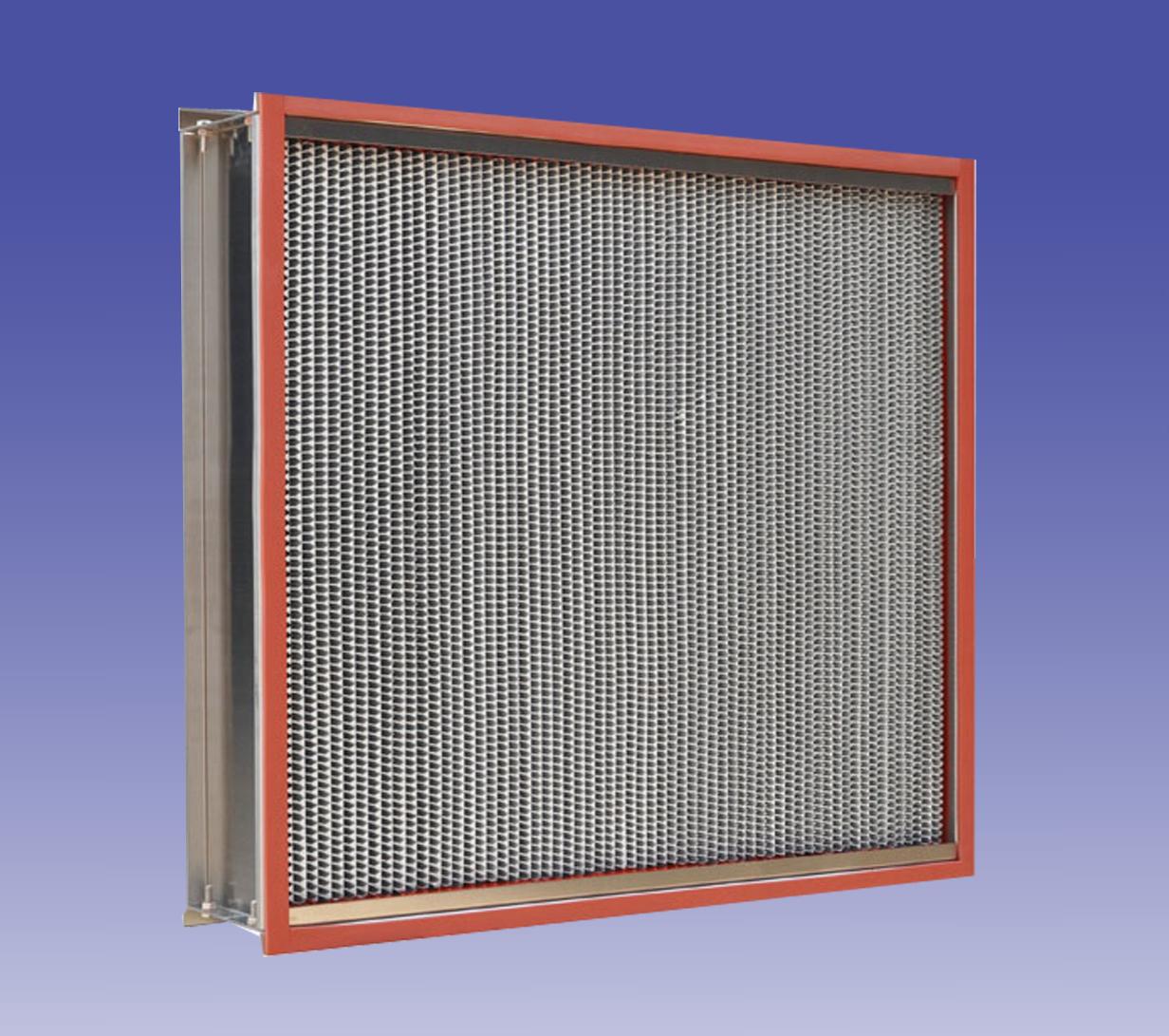 350℃耐高温高效过滤器 H13