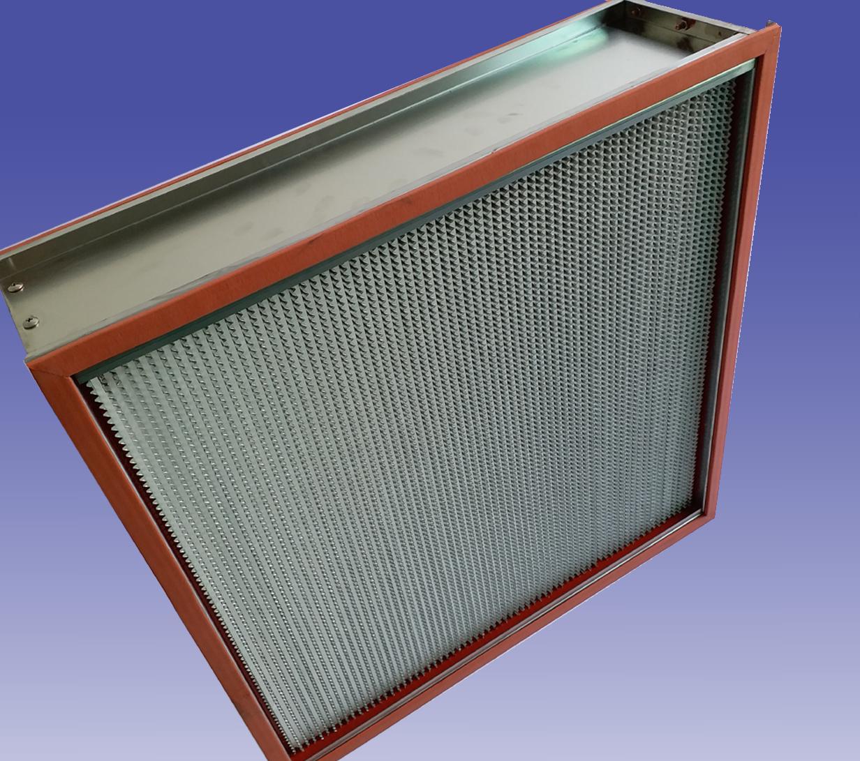 150℃耐高温高效过滤器 H14